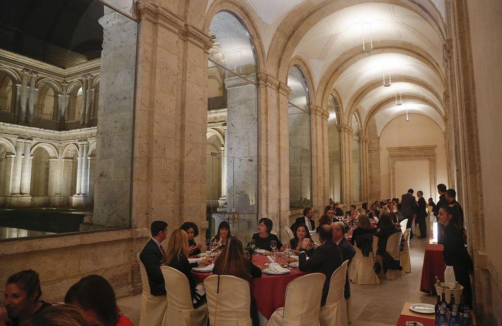 Cena de gala Patio Herreriano